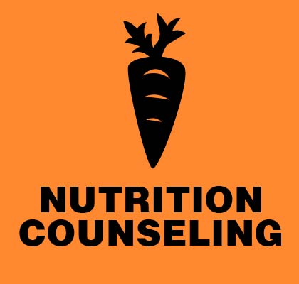 NUTRITION COUNSELING and personal training